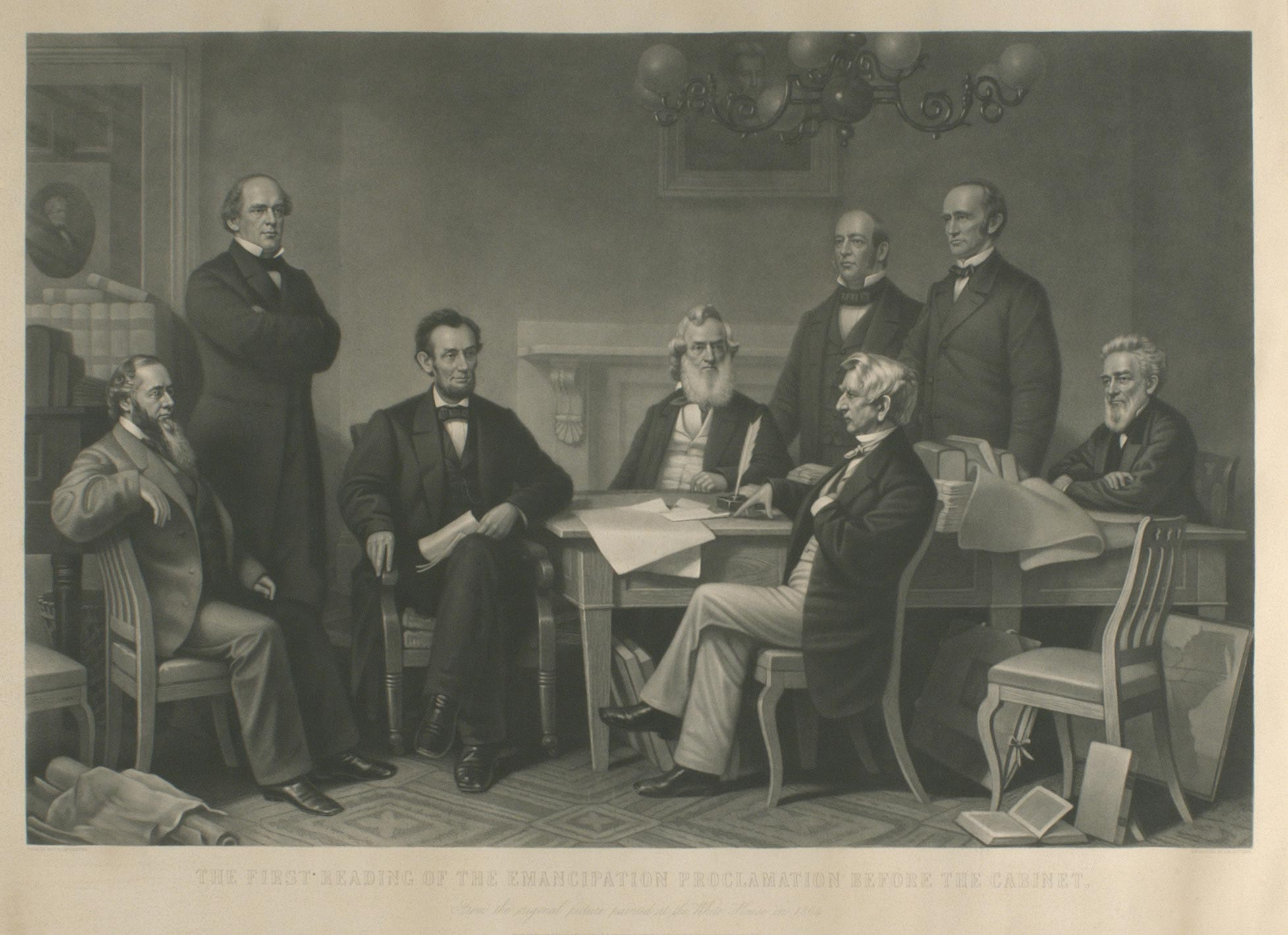 A.H. Ritchie, The First Reading of the Emancipation Proclamation Before the Cabinet 71.2009.081.0078