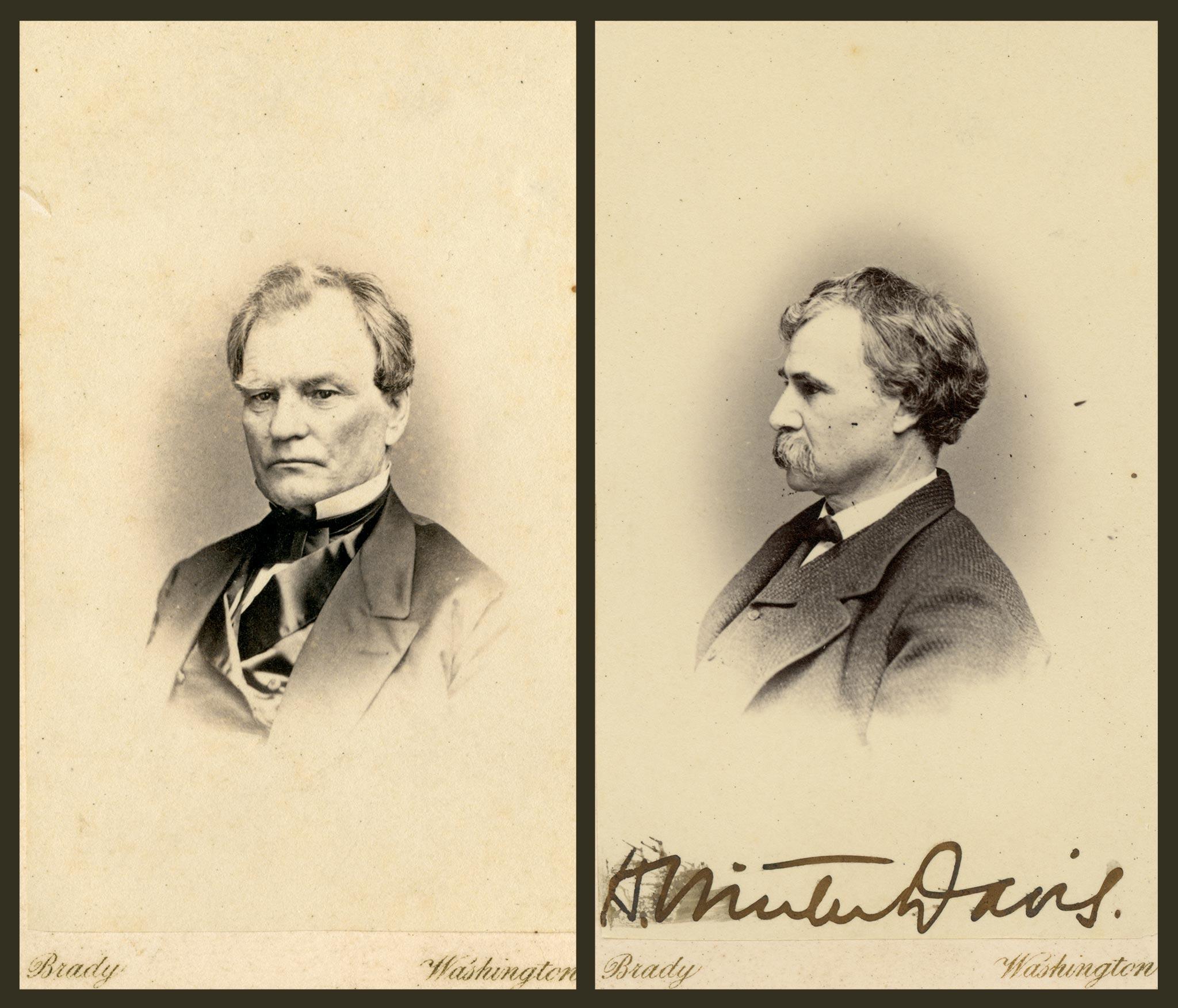 Benjamin Wade LN-1342, Henry Winter Davis LN-2213