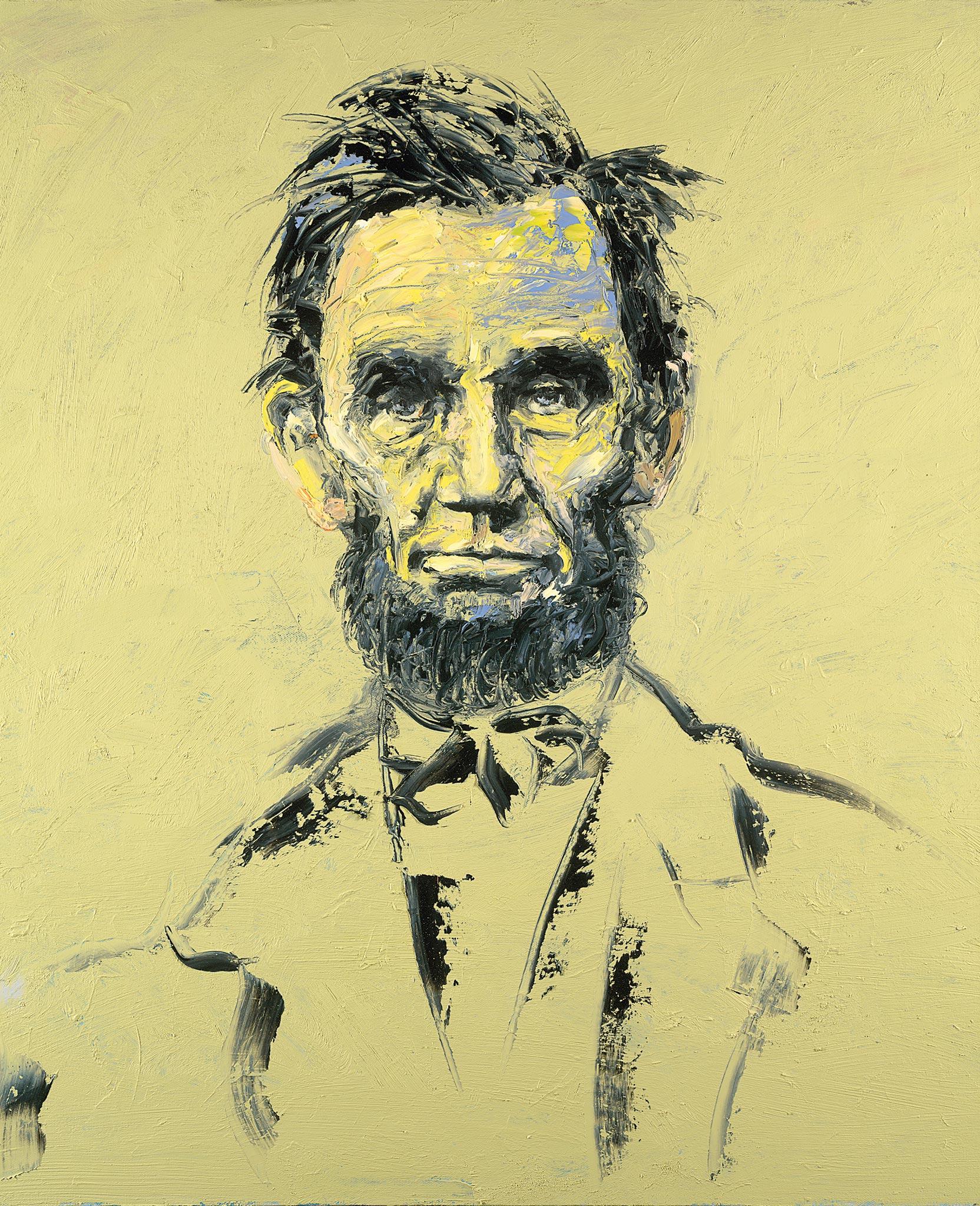 Lincoln 209, Wendy Allen, Oil on Canvas
