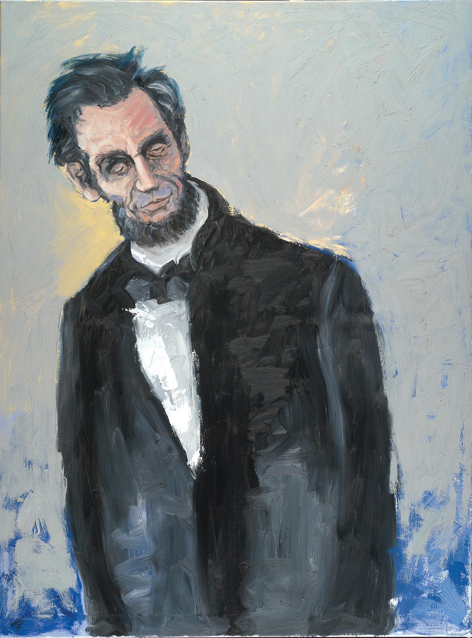 Lincoln 210, Wendy Allen, Oil on Canvas