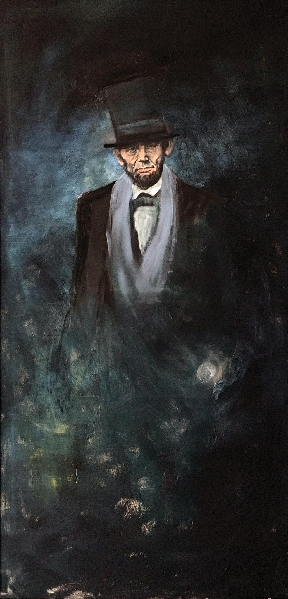 Lincoln 219, Wendy Allen, Oil on Canvas