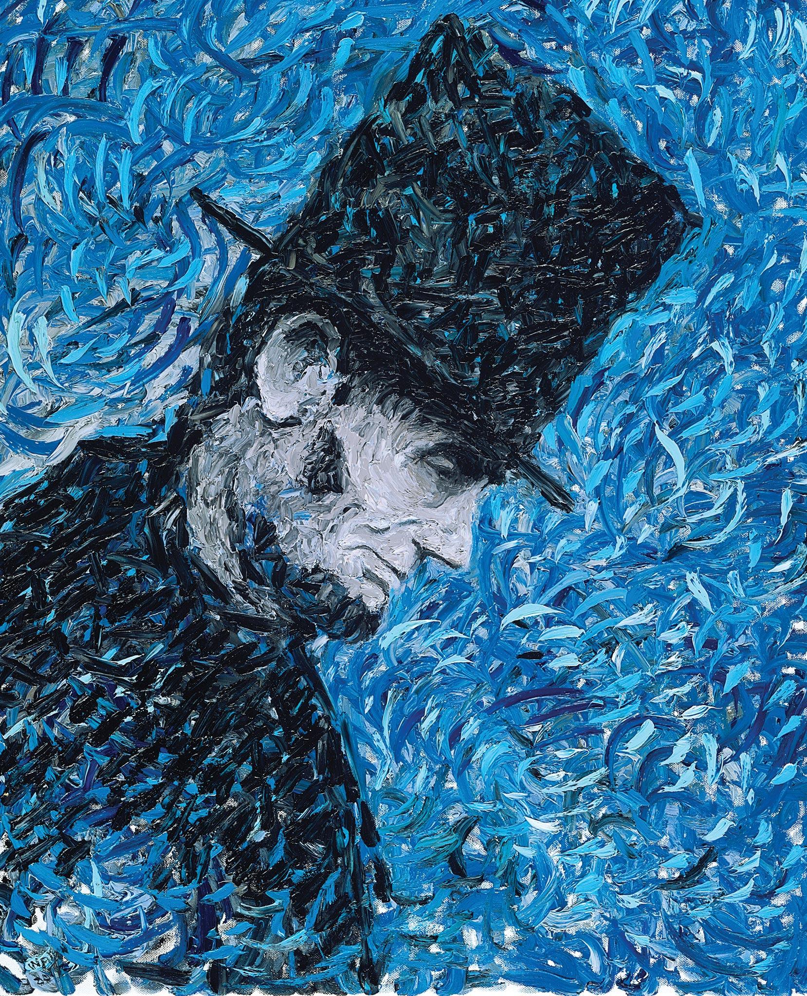 Lincoln 224, Wendy Allen, Oil on Canvas