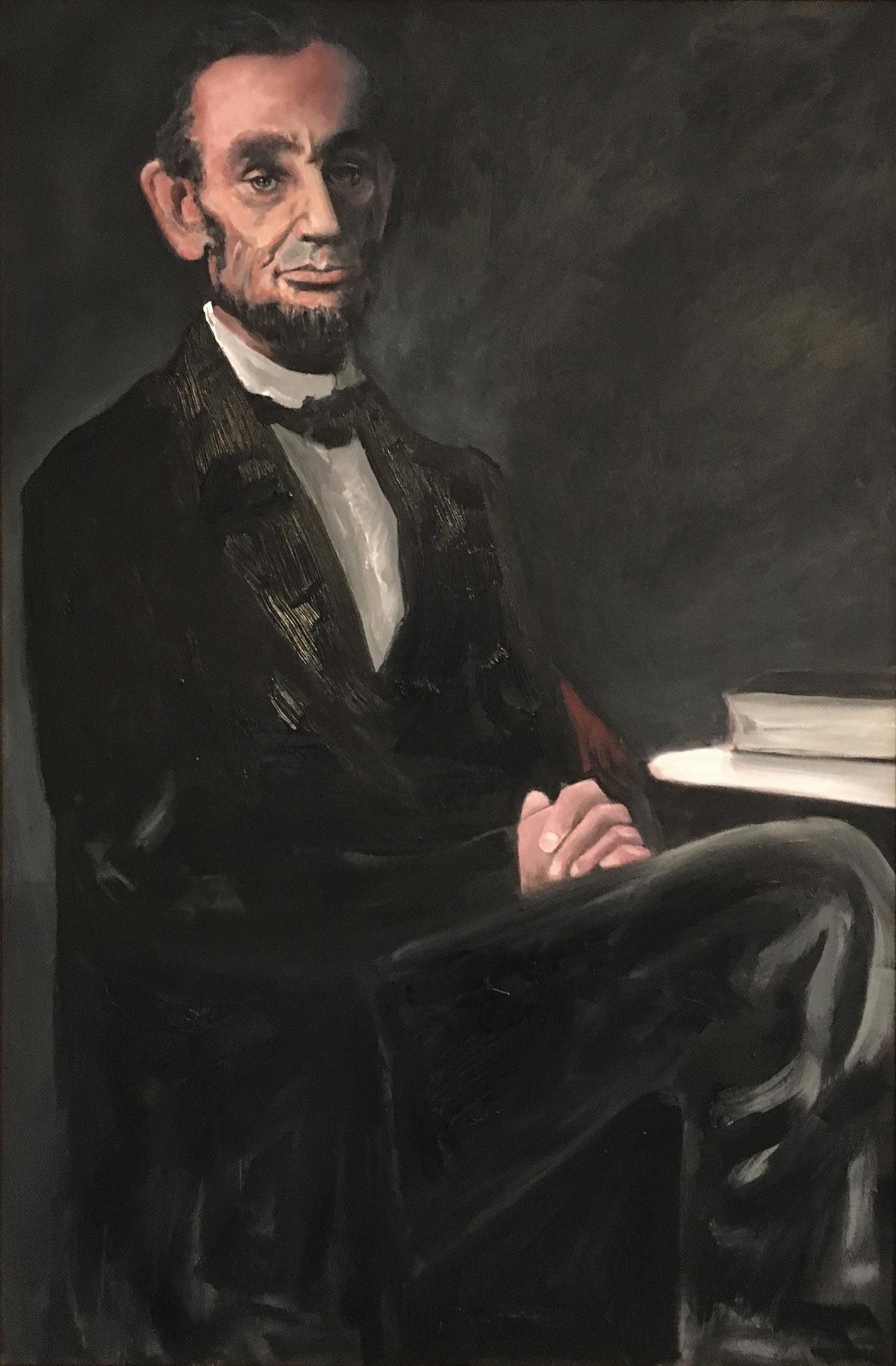 Lincoln 237, Wendy Allen, Oil on Canvas