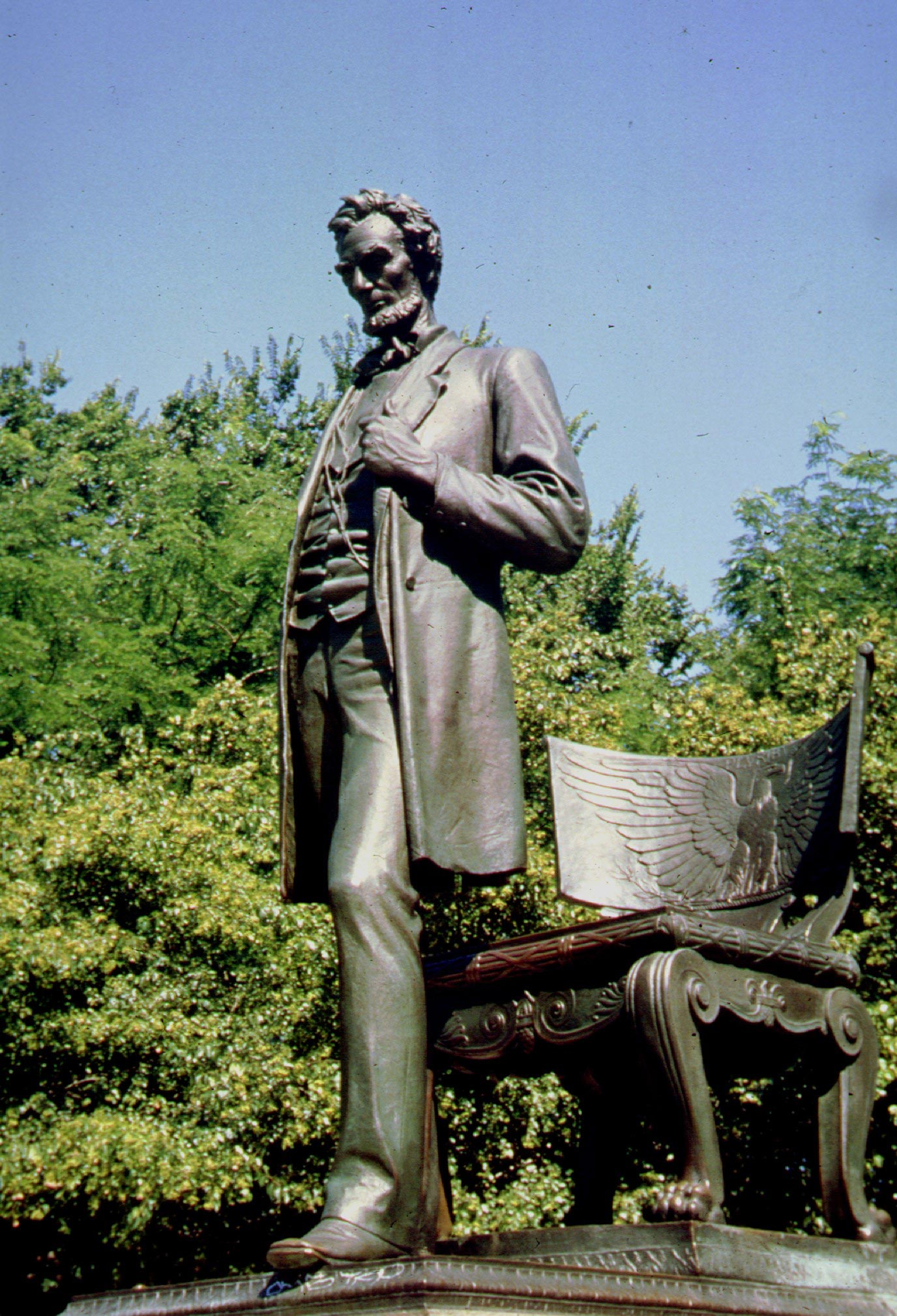 Standing Lincoln, Photo: Courtesy of Saint-Gaudens NHS, Cornish, NH