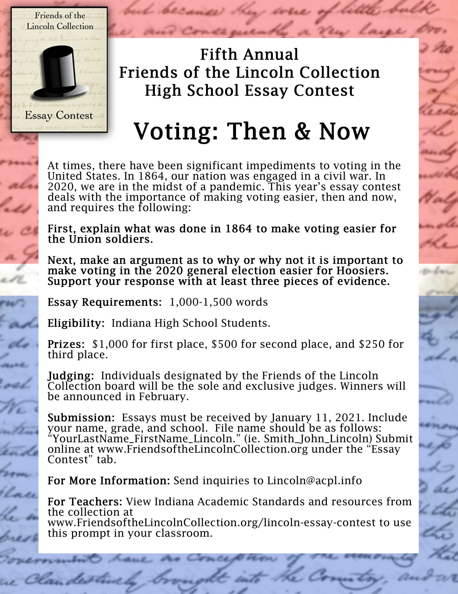Pay to do popular school essay on lincoln